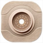 Extended Wear Barrier - 5011202 - Hollister Inc New Image CeraPlus 2-Piece Cut-to-Fit Tape Border (Extended Wear) Barrier Opening 1-1/4 Stoma Size 1-3/4 Flange Size