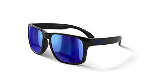 REKS Unbreakable SPORT Sunglasses (NEW 2018 Model) (Non-polarized, Blue - Sunglasses Model New