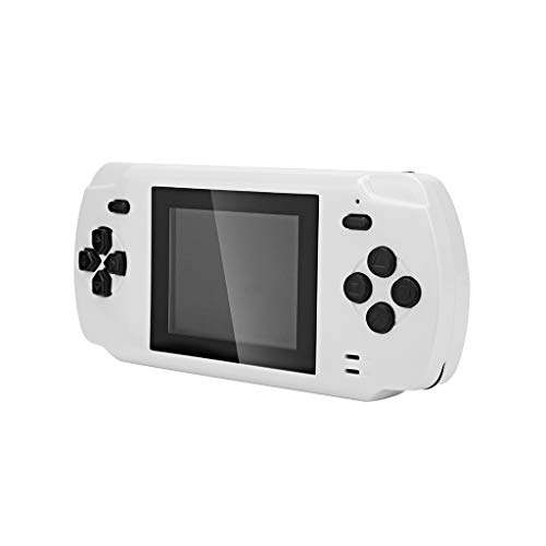 (TOPUNDER Bluetooth earphone Portable 3 Inch Handheld Game Console Pluggable Card Built-in 68 Classic Games)