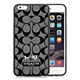 Coach Iphone Case (Coach Black iPhone 6 Plus 5.5 inch Screen TPU Cover Case Fashionable and Charming Designed)