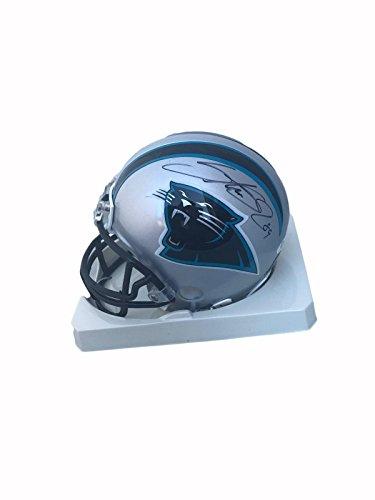 Authentic Autographed Nfl Mini Helmet - Autographed Steve Smith Mini Helmet - JSA Certified - Autographed NFL Mini Helmets