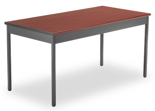 OFM UT3060-CHY Utility Table, 30 by 60-Inch, Cherry by OFM