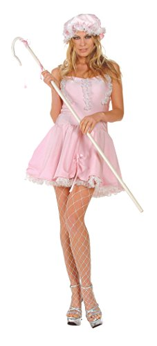 Miss Lil' Bo Peep (Standard;Large) (Bo Peep Costume For Adults)