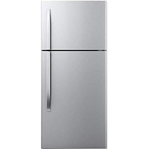 - MIDEA 18 cu. ft. Top Mount Refrigerator -Stainless Steel