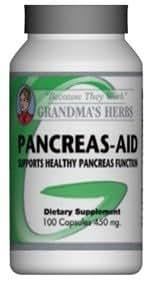 Amazon.com: páncreas ayuda – Fórmula herbal natural que ...