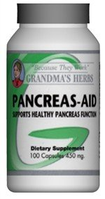 Cheap Pancreas Aid – All Natural Herbal Formula that Supports Healthy Panceas Function – 100 Capsules