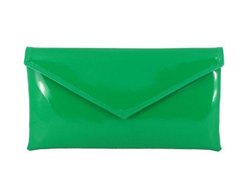 Mano con Para Sobre Verde De Diseño Hombro Fiesta Loni Bolso Tira wOxEpqI7