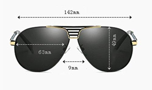 Glare Lunettes a de Hommes Pilote UV Conduite Mode Soleil Sport Soleil MOQJ Lunettes Protection de Lunettes Polarisées de vFR16q