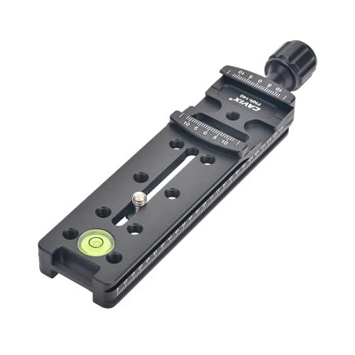 140mm Camera Rail Nodal Slide Metal Quick Release