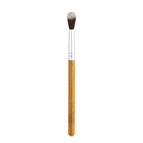 Iuhan Selling Bamboo Handle Synthetic Fiber Eyeshadow Brush High Light Makeup Brush (Brown)