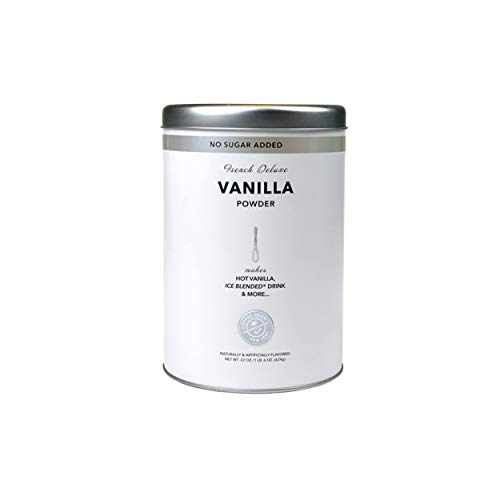 (French Deluxe Vanilla Powder, No Sugar Added - 16 oz)