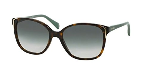 Prada PR 01OS 2AU1E0 Havana Brown Gradient Polarized Sunglasses, - Prada International