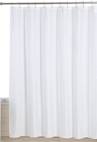cloth shower curtain liner - 8