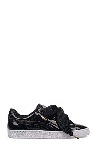 Puma Femme 363073001 Noir Cuir Baskets