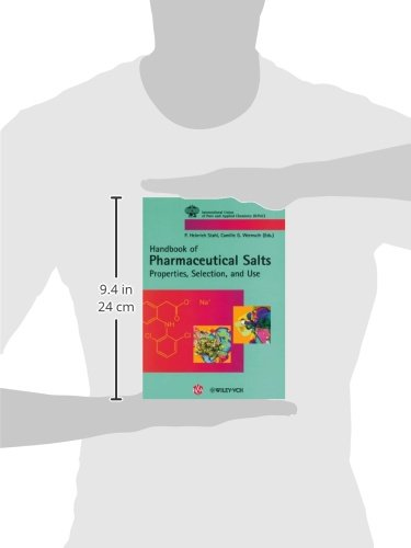 Handbook of Pharmaceutical Salts Properties, Selection, and Use