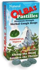 Pastilles Herbal Cough Drops -