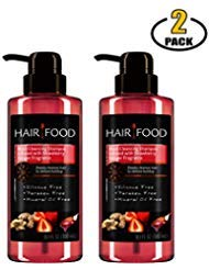 Clairol Hair Food Salon Shampoo w Pump - The Best Sulfate Free, Paraben Free, Mineral Oil Free - Infused With Strawberry and Ginger - Root Cleanser Clarifying - BASED BOX ()