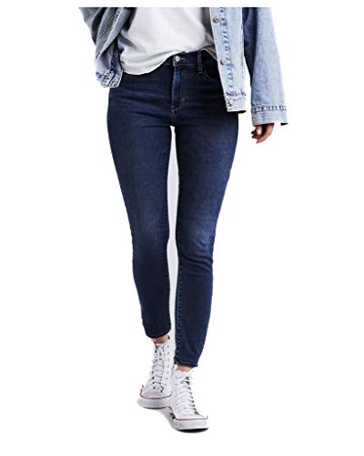 Jeans Donna Refined Levi's 720 High Rise Super Dark Skinny Y44dqWr