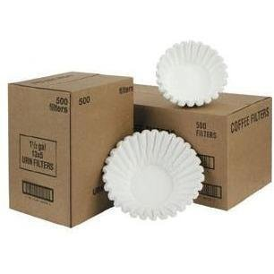 Fetco F004 Coffee Filters 20x8 in. Basket Funnel F00400000 1000 Count by Fetco (Image #2)