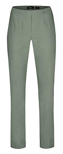 Voglio noti Robell bengaline TV stretch Ivy pantaloni Verde Green dalla Marie donne BqwxngrBU4