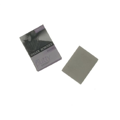 Daler-Rowney artist kneadable putty eraser - firm rubber small size Daler Rowney 812010100