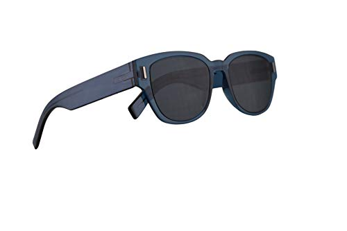 Christian Dior Homme DiorFraction3 Sunglasses Blue w/Blue Mirror Shaded Gold Lens 50mm PJPA9 Fraction 3 Fraction3