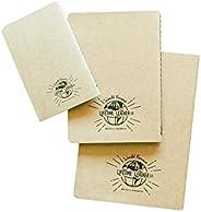 Lifetime Leather Kraft Paper Journal, Paper Journal Refill, 3x5, 5x7, 6x8