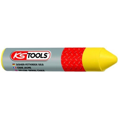 KS Tools 100.4045 Crayon jaune de marquage pour pneu 12 pièces