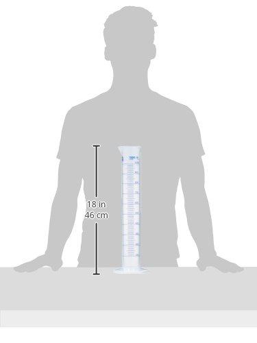 forme de hauteur 1000/ml//10/ml Polypropyl/ène hexagonal Base Neolab E-1616/Cylindre gradu/é