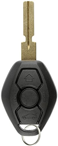 KeylessOption Keyless Entry Remote Control Car Key Fob Notch Style Replacement for BMW LX8 FZV