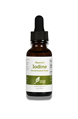 Nascent Iodine Drops Supplement for Best Absorption - Liquid Concentrated Drops