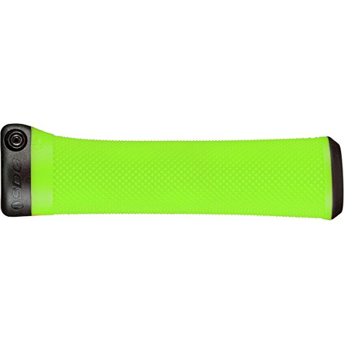 SDG Components Slater Lock-on Grips Neon Green, One Size