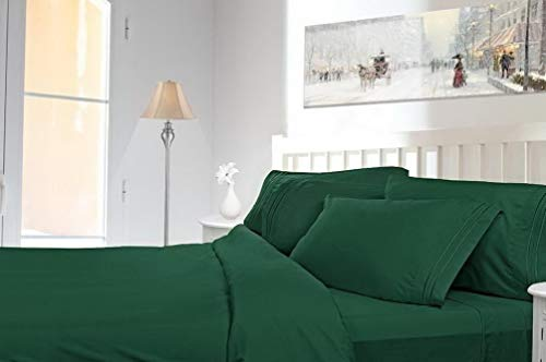 Hebel Premier Deep Pocket Bed Sheet Set - Available in 8 Sizes and 21 Colors | Model SHTST - 1650 | Queen