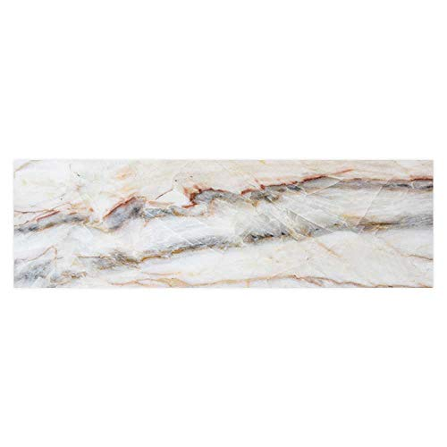 Dragonhome Aquarium Collage Marble Texture Detailed Structure of Marble in naturalfor Background and Design Paper Fish Tank Backdrop Static Cling Wallpaper Sticker L35.4 x H19.6