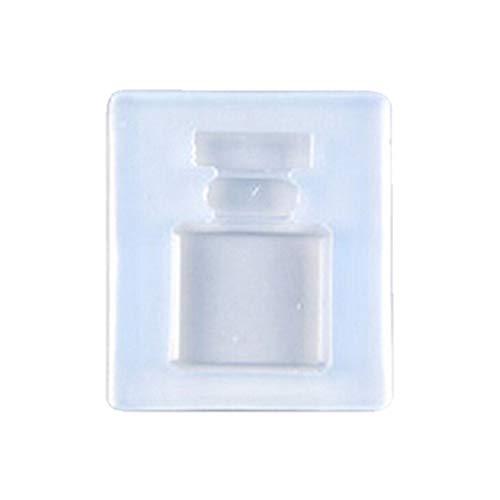 (Hardli Perfume Bottle Pendant Keychain Mold,Resin Casing Craft Jewelry Making Tools,DIY Crafts Gifts)