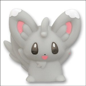 (Bandai Pokemon Finger Puppet Mini PVC Figure - Chillarmy / Minccino)
