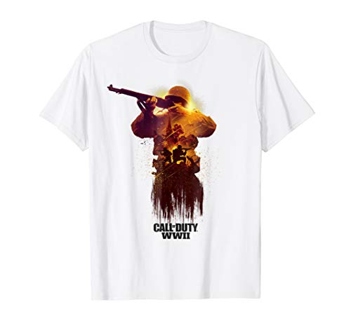 Call of Duty WWII - War Zone Front Line T-Shirt (Call Of Duty Wwii Valor Collection Pro)