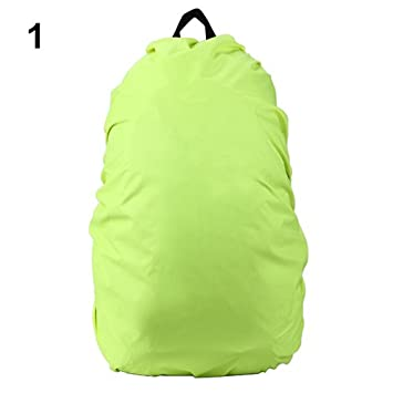 6cf4f90853 DProcZCWaterproof Rainproof Backpack Rucksack Rain Dust Cover Bag for Camping  Hiking - Green 35LRain Cover  Amazon.in  Home Improvement