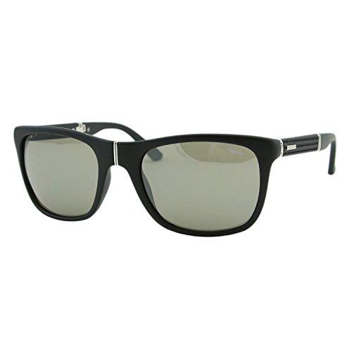 Chopard Mille Miglia SCH-135 U28X Men Black & Silver Folding Square - Sunglasses Mille Chopard Miglia