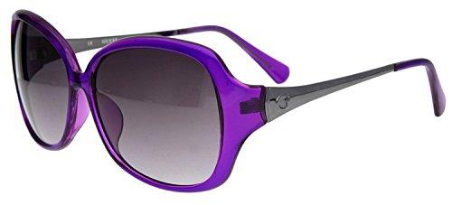 GUESS Women's GUF245PUR-35GU0245FO46 - Sunglasses Purple Guess