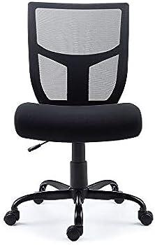 Staples Mesh Back Fabric Task Chair
