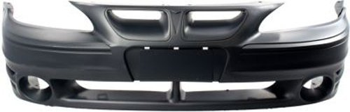 Crash Parts Plus Primed Front Bumper Cover Replacement for 1999-2005 Pontiac Grand Am (Pontiac Grand Am Mileage)