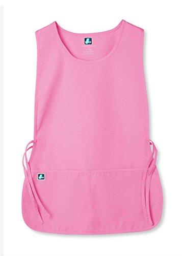 Adar Unisex Cobbler Apron with 2 Pocket/Adjustable Ties - 702 - SBT - (Best Pink Apron With Pockets)
