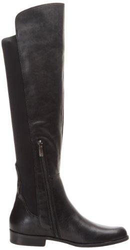 Riding Boot Anne Klein Citygurl AK Leather Women's Black Leather wnYXrYvqx