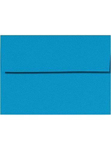 A4 Invitation Envelopes w/Peel & Press (4 1/4 x 6 1/4) - Pool Blue (50 Qty.) Photo #2