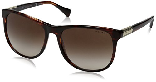 Ralph Lauren Sunglasses Women's 0ra5224 Square, Striated Brown, 58 (Ralph Prescription Sunglasses)