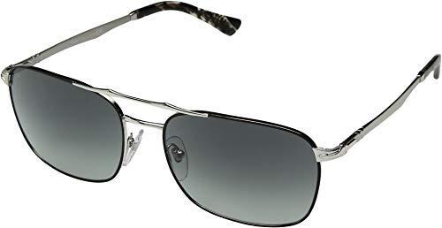 Persol 0PO2454S Gafas de sol, Rectangulares, 60, Silver ...