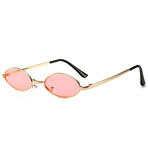 Metal acrílico Lichtbild Gafas Hombres de pequeña Galerie amp; Super Percentage Gafas Hombres de Sol 95 QQBL nbsp;Visible Ovalado Sol Ocean Rosa nbsp; rosa UV400 Caja xqXRtwFHn