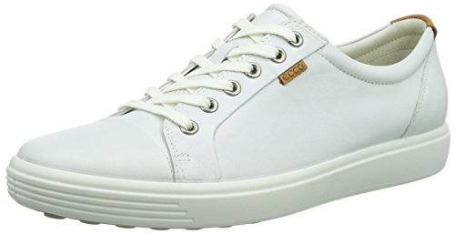 ECCO Women's Soft VII Sneaker White/White Sneaker 43 (US Women's 12-12.5) M by ECCO