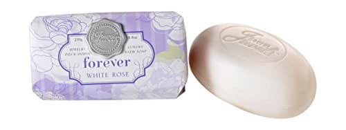 Secret Jewels White Rose Scented Forever Luxury Bath Soap